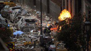 3 muertos en explosión en el centro de Madrid