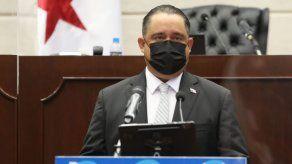 Castillero pide unión contra pandemia y resalta aprobación de 62 proyectos en primera legislatura del segundo período