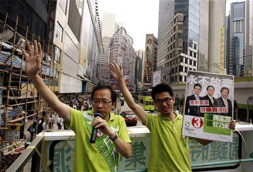 Hong Kong: oposición pronostica pérdidas en elecciones