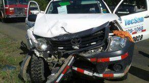 Accidente de tránsito en Las Lomas en Chiriquí dejó varios heridos