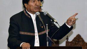 Morales insiste en la demanda irrenunciable de Bolivia ante Chile por el mar