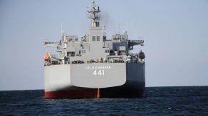 Armada iraní realiza maniobras militares en el Golfo de Omán