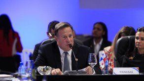 Expresidente Varela entrega su declaración de bienes patrimoniales