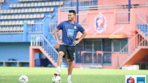 Rolando Toro Blackburn anotó su primer gol en Tailandia