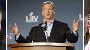 Un draft de la NFL virtual y austero