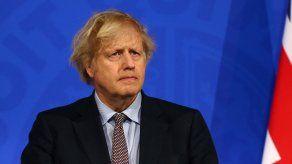 El primer ministro Boris Johnson desmintió las filtraciones sobre el apartamento.