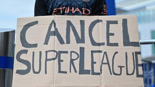 Superliga: Clubes ingleses hacen oficial su retirada