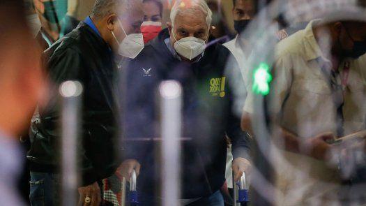 El expresidente de la República de Panamá, Ricardo Martinelli, investigado por el caso Pinchazos.
