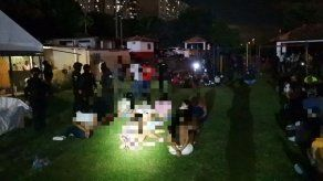 PN aprehendió a 145 personas en Boca la Caja por incumplir normas de bioseguridad