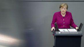 Merkel pide cooperación internacional ante el coronavirus