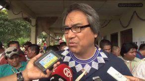 Indígenas Ngabe Buglé entregan pliego a miembro de ONU por tema minero