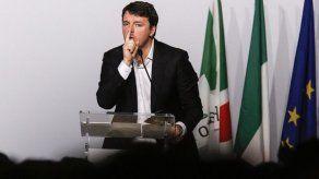 Renzi renuncia como jefe de su partido