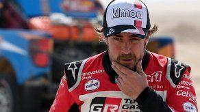 Fernando Alonso sufre accidente montando en bicicleta en Suiza