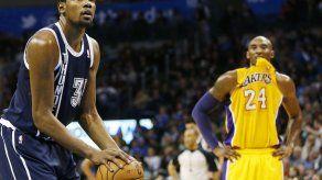 Kobe Bryant muestra bache ofensivo ante Thunder
