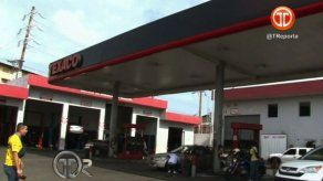 Delincuente asaltó a trabajador de gasolinera en Calle 13 de Colón