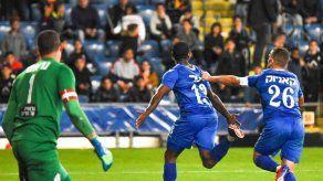 Armando Cooper volvió a marcar en Israel y le dio la victoria a su equipo