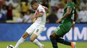 Guerrero reanima a Perú en victoria 3-1 ante Bolivia