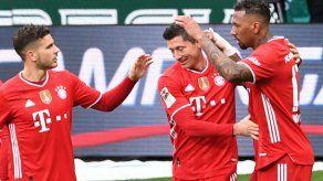 El Bayern y Lewandowski siguen con paso firme en la Bundesliga