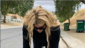 Jessica Simpson vuelve a ejercitarse siete semanas después de dar a luz
