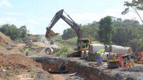 Construcción y ensanche del Corredor Panamá Norte tiene un 25% de avance