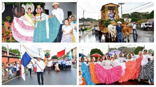 Santeños de San Miguelito están listos para celebrar el 10 de noviembre