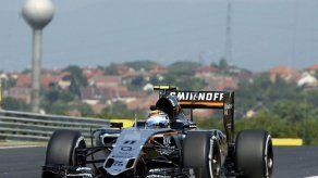 Sergio Pérez no saldrá en el segundo entrenamiento libre de Hungría