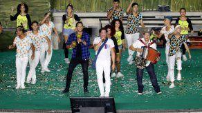 Gabo y Vives resplandecen en inicio de Juegos Bolivarianos en Colombia