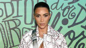 Kim Kardashian apoya a su excuñado Tristan Thompson en un partido de baloncesto
