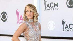 Carrie Underwood lloró tras ser parada por la policía