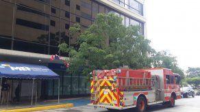 Suspenden labores en sede de la DGI en Avenida Balboa tras registrar presunta fuga de gas