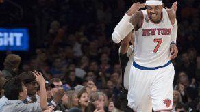 Anthony suma 31 puntos en cuarto triunfo seguido de NY en casa