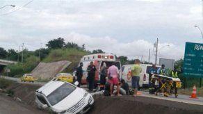 Una víctima fatal en accidente de tránsito en la Autopista Arraiján-La Chorrera