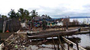 Fuertes oleajes en la comunidad de Ailitupu afectan a dos casas