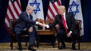 Netanyahu quiere que Trump asista a inauguracion de la embajada EEUU en Jerusalén