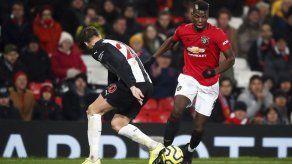 Pogba del Manchester United se operará el tobillo derecho