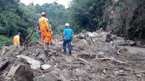 Familias en Boquete incomunicadas tras deslizamiento de tierra