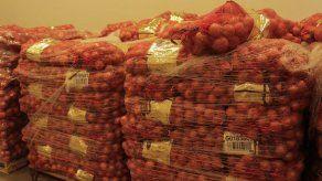 Impiden ingreso de 72.3 kilos de cebollas que no cumplían con las normas
