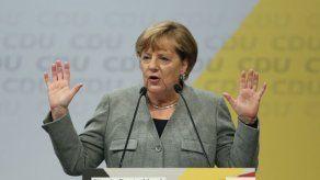 Merkel destaca prosperidad