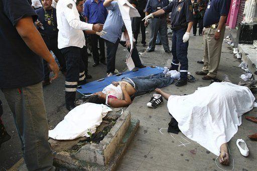 Mueren 12 jóvenes por asfixia en discoteca en México