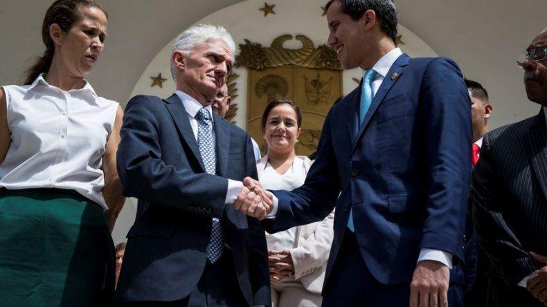 Guaidó alerta a ONU que crisis en Venezuela está a punto de ser catástrofe