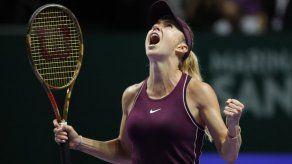 Svitolina vence a Bertens en semis de Final de WTA