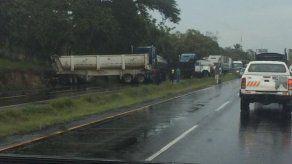 Accidente de tránsito en la Interamericana hacia el interior