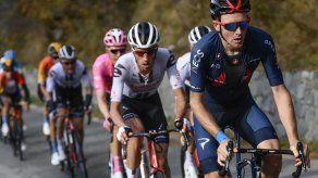 Empatado en la cima del Giro