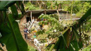 Familias afectadas por deslaves de tierra en Villa María serán reubicados en Chivo Chivo