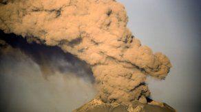 Reportan explosión en el volcán Popocatépetl en México
