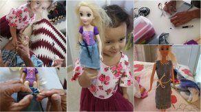 Hacer vestidos para las muñecas de nuestras hijas