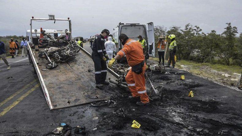 Aumentan a 41 los muertos por reciente explosión de camión cisterna en Colombia