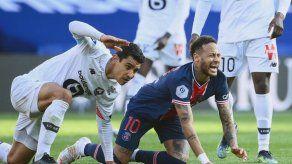 PSG pierde contra Lille en duelo entre aspirantes al título