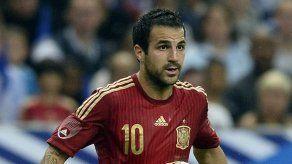Cesc Fábregas deja la concentración de España por lesión