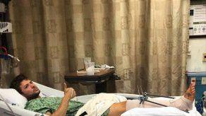 Ryan Phillippe ingresa en el hospital por una misteriosa lesión en la pierna